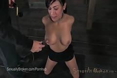 Japanese Marica Hase Experiences American Bondage