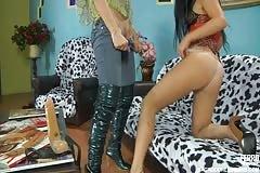 Rosa and Jenny - Backdoor Lesbians