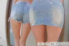 Ass Traffic hot girls enjoy ass fucking threesome