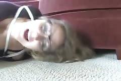 Pixie Babysitter Hogtied