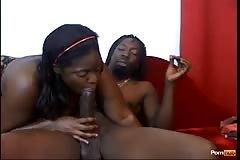 Afro American Hair Pie 5 - Scene 2