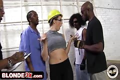 Big Tit Chanel Preston Interracial Anal Gangbang - blonde3x.com