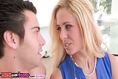 Moms Bang Teens - Milf Gives Licking Lessons